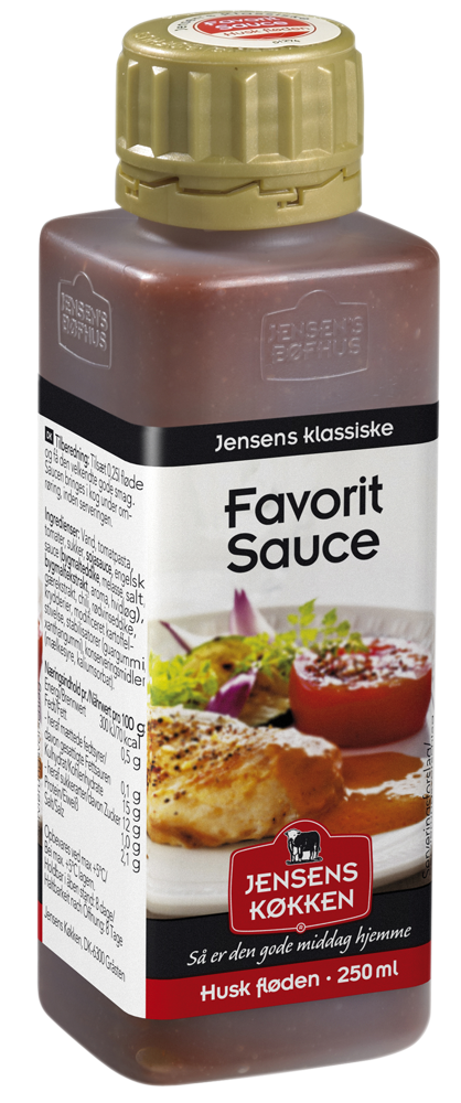 Jensens favorit sauce